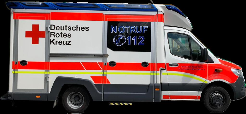 DRK RTW Meiningen/ Dreißigacker
